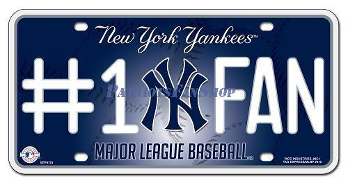 1802_New_York_Yankees_1_Fan_License_Plate