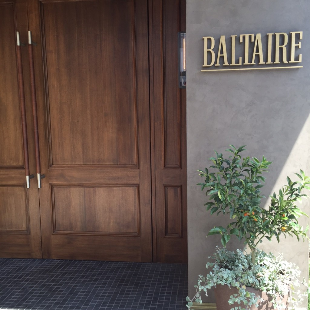 Baltaire…No Stuffy Steakhouse…