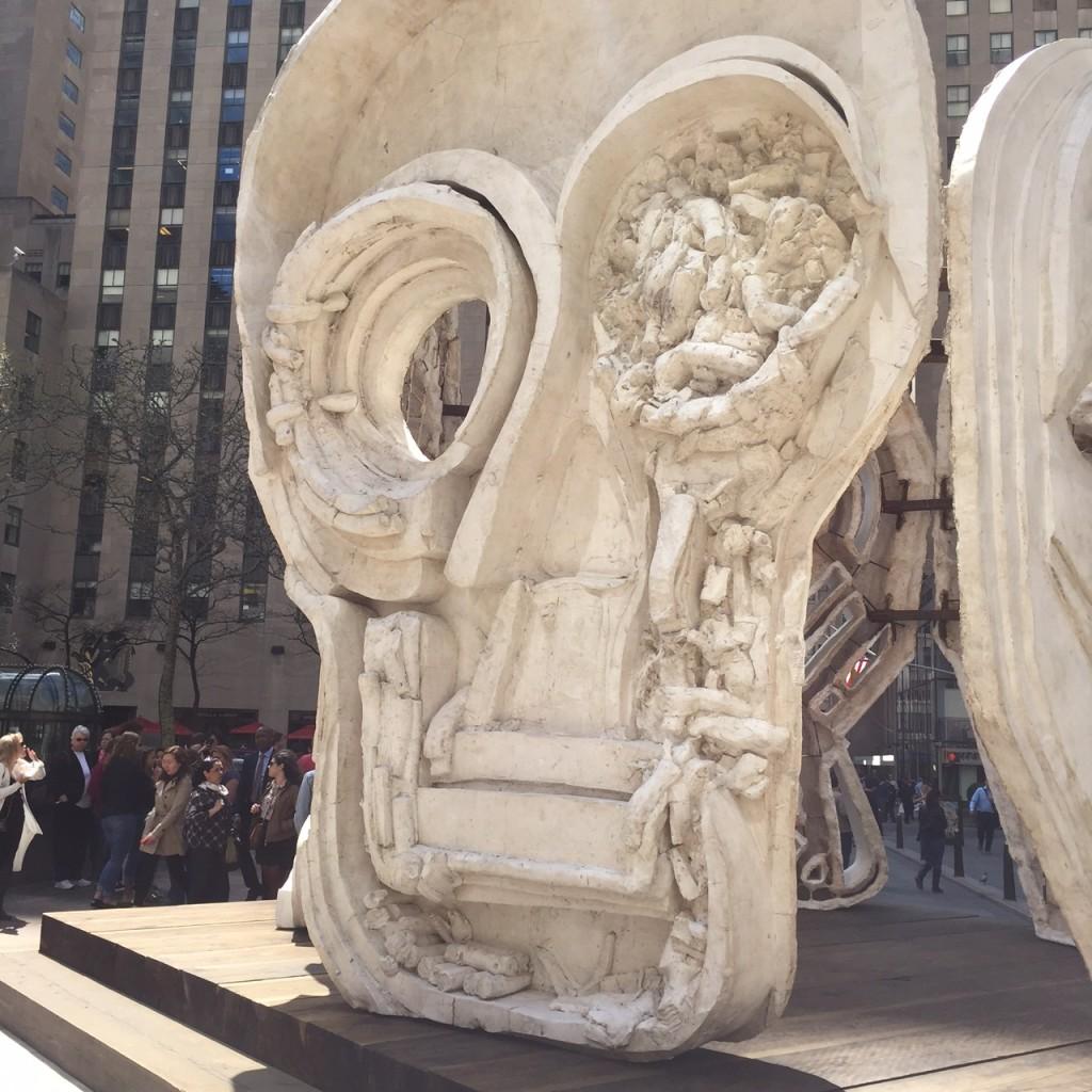 'Masks' at Rockefeller Center