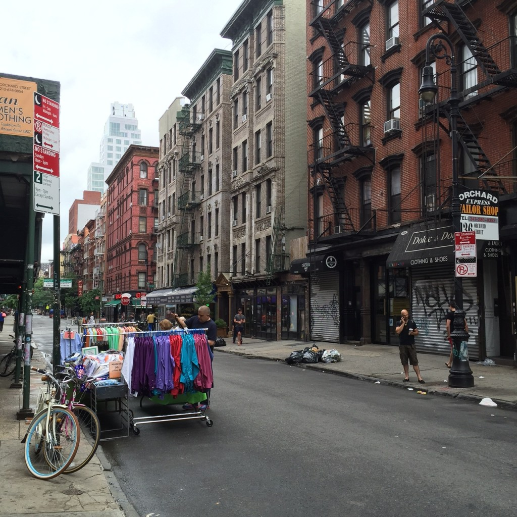 Orchard Street, Lower East Side