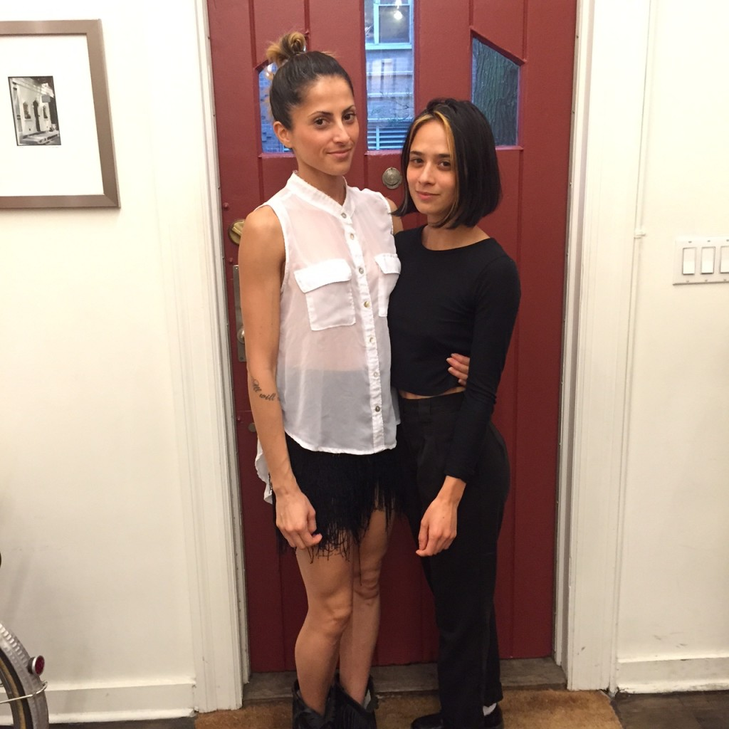 Carla & Alaina, Salon Benjamin