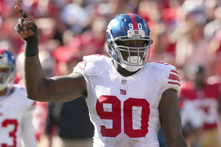 Jason Pierre Paul photo:Stephen Dunn/Getty Images