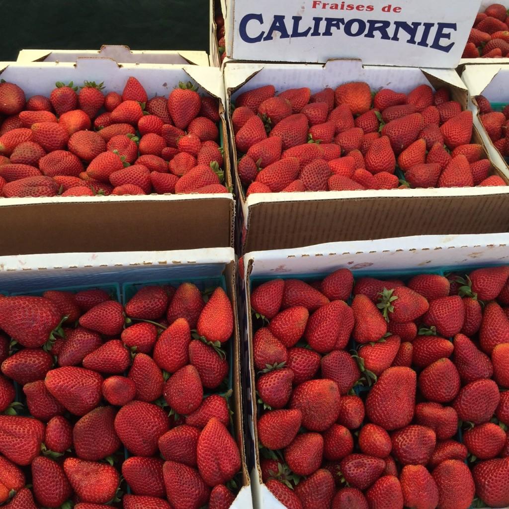 Produce at Malibu Farmers Market