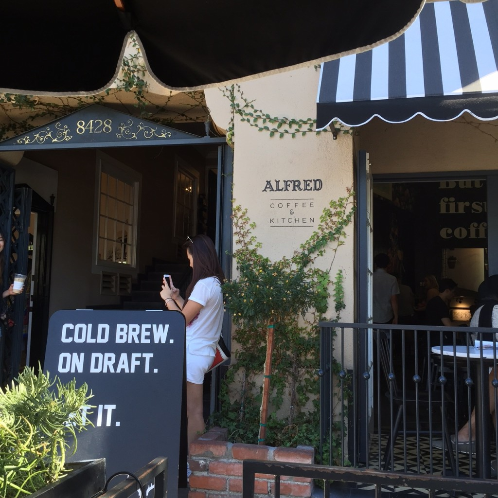 Alfred's, Melrose Place, West Hollywood
