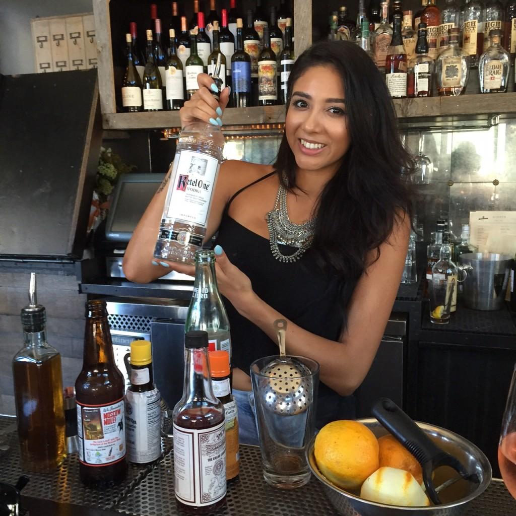 Jazmin, Bartender at The Churchill