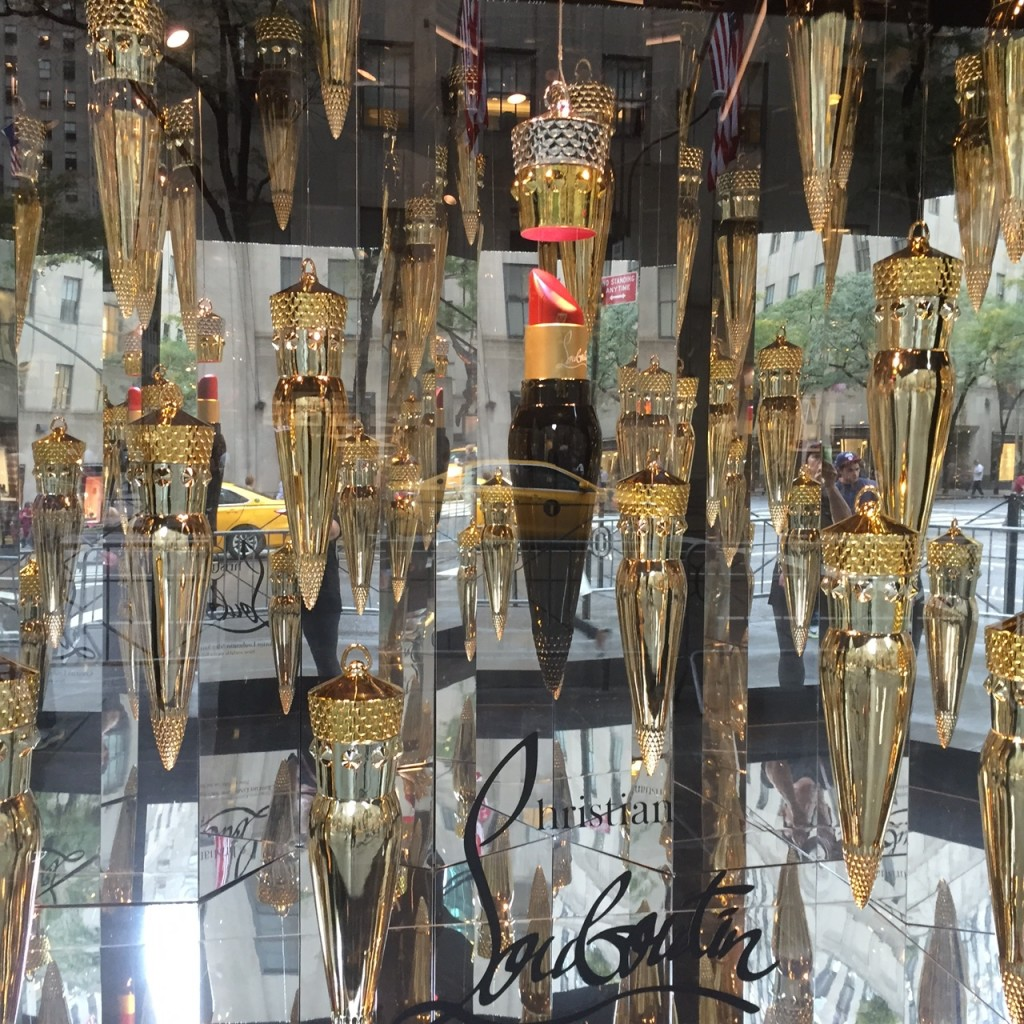 Christian Louboutin Window @ Saks Fifth Avenue
