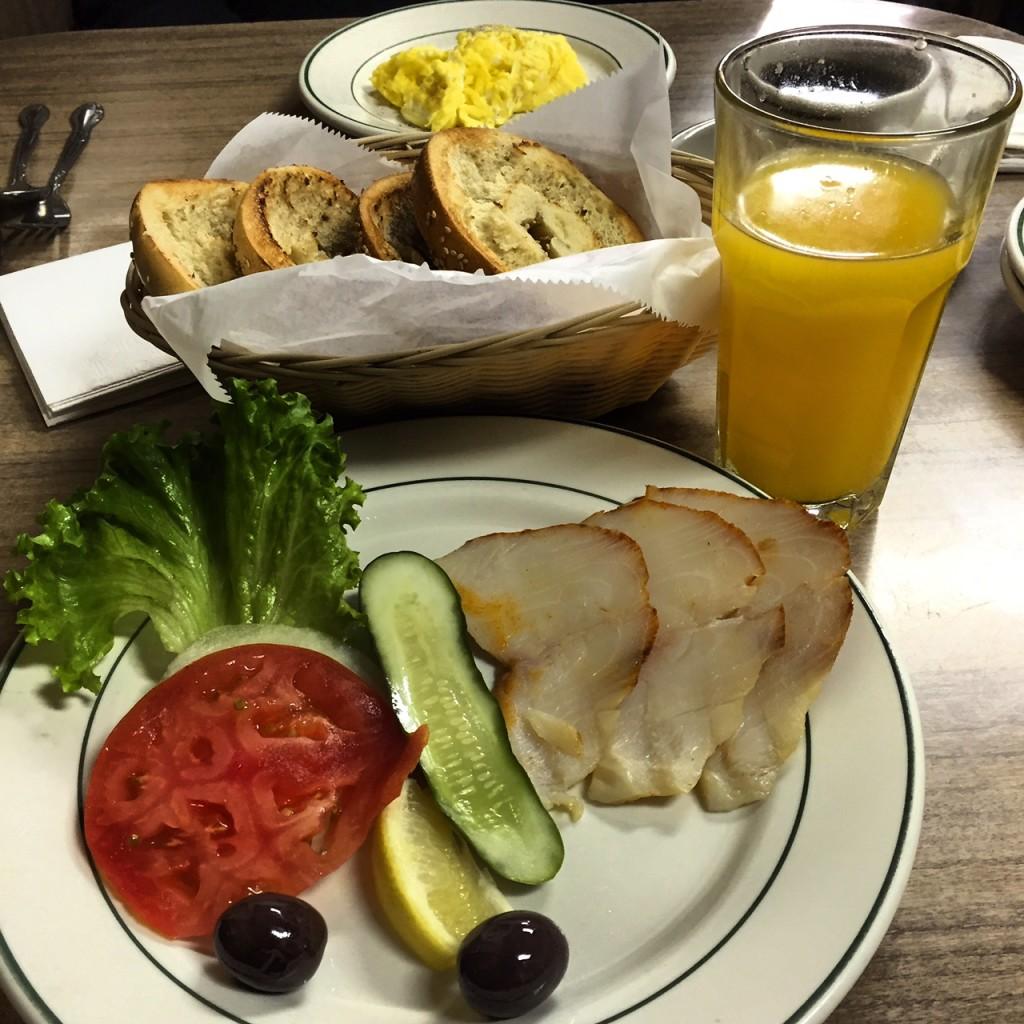 Barney Greengrass Breakfast of Sable