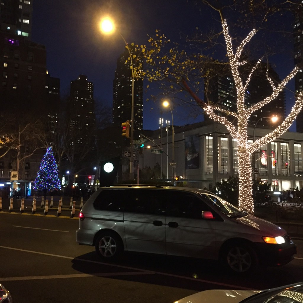 Broadway and Lincoln Center