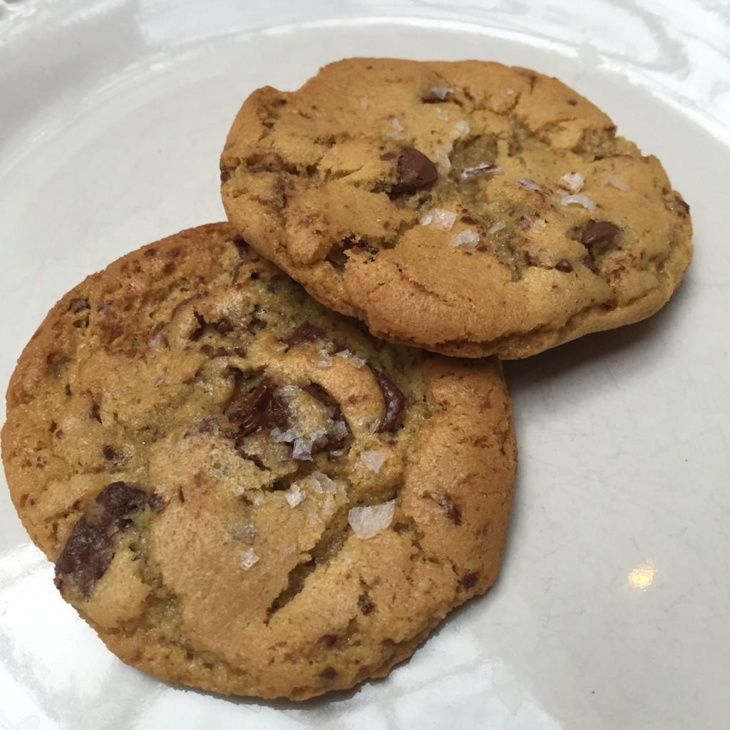 Chocolate Chip Cookies (look bigger in photo)