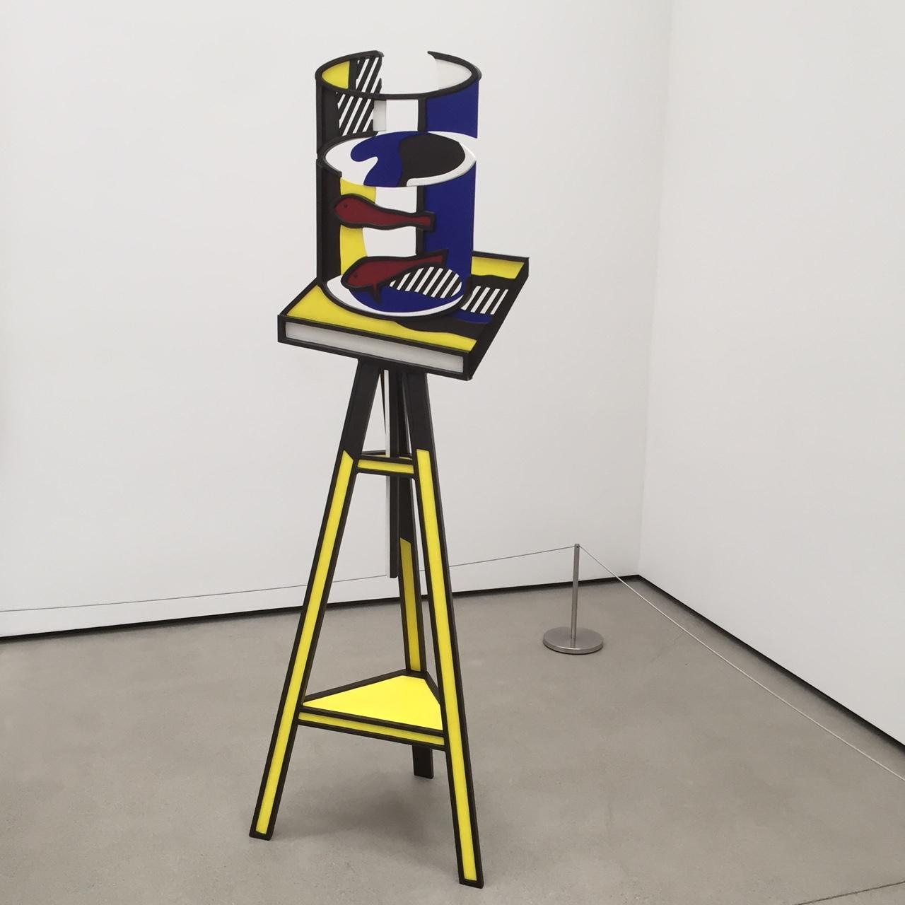 Roy Lichtenstein at the Broad
