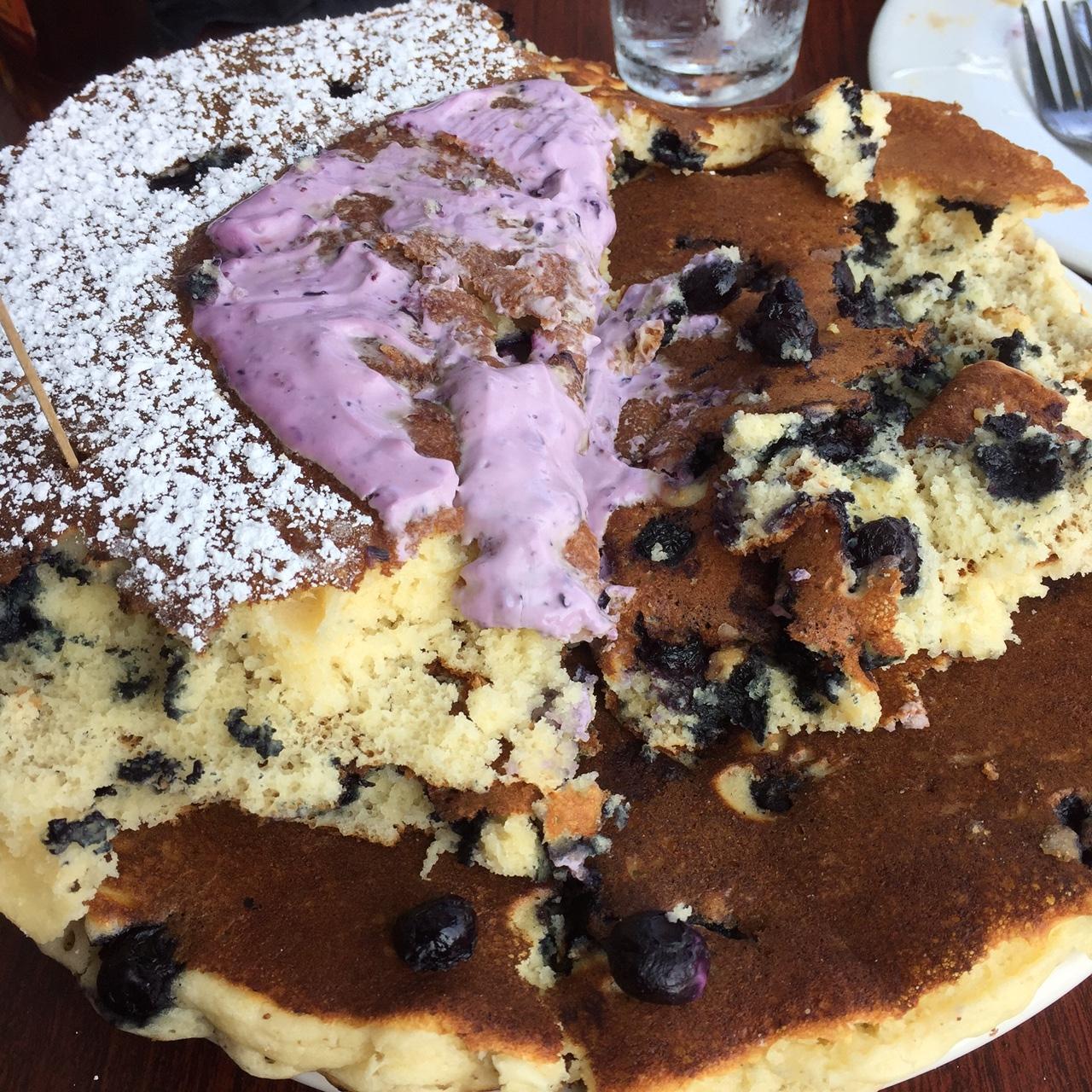 BLUESberry Pancakes
