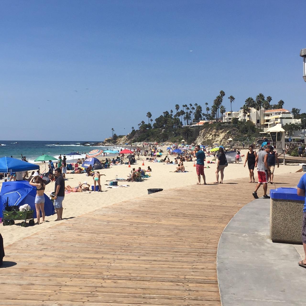 Laguna Beach Boardwalk