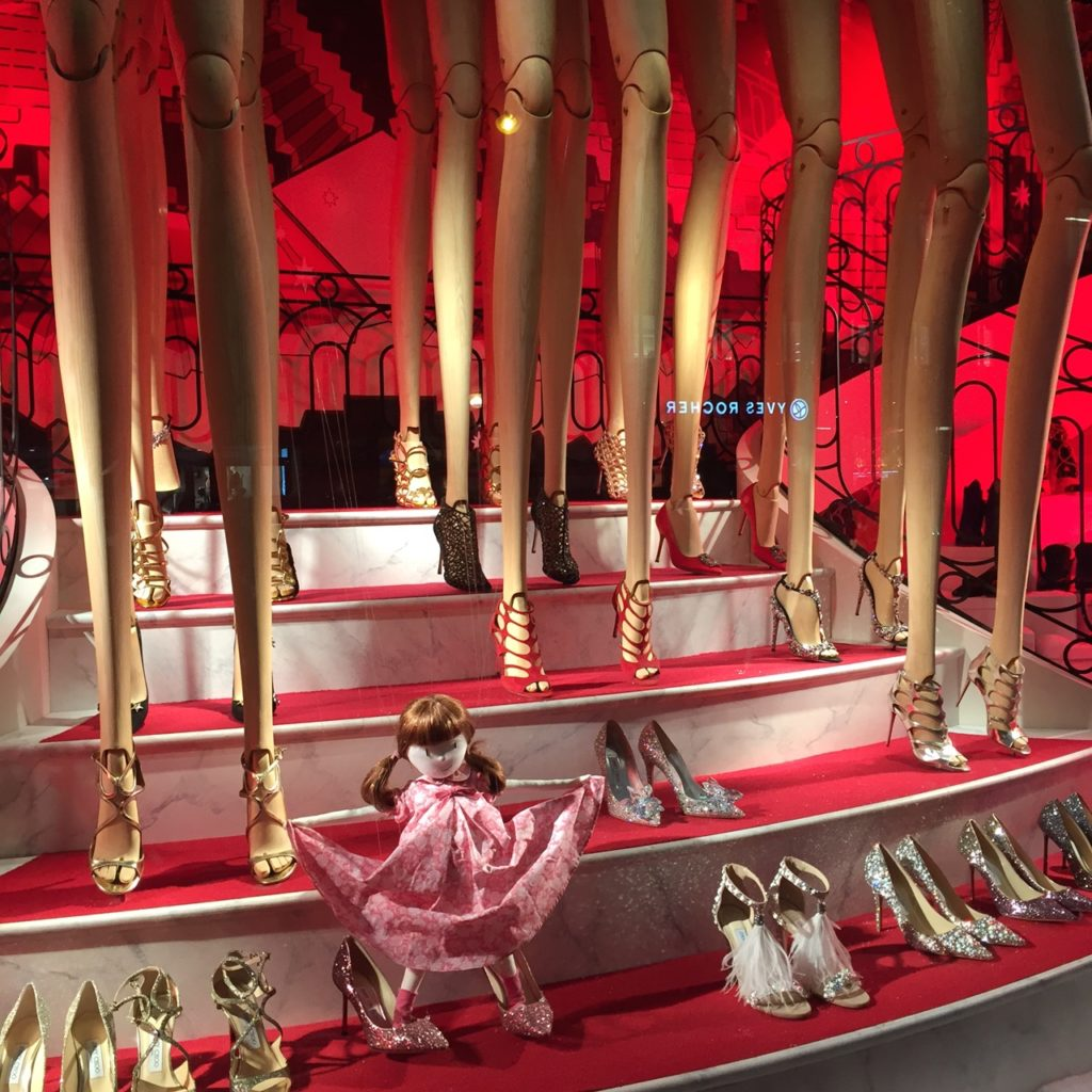 Galeries Lafayette Holiday Windows