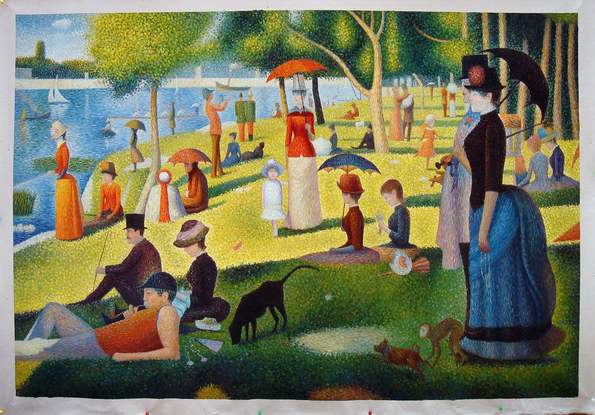 Seurat Sightings…