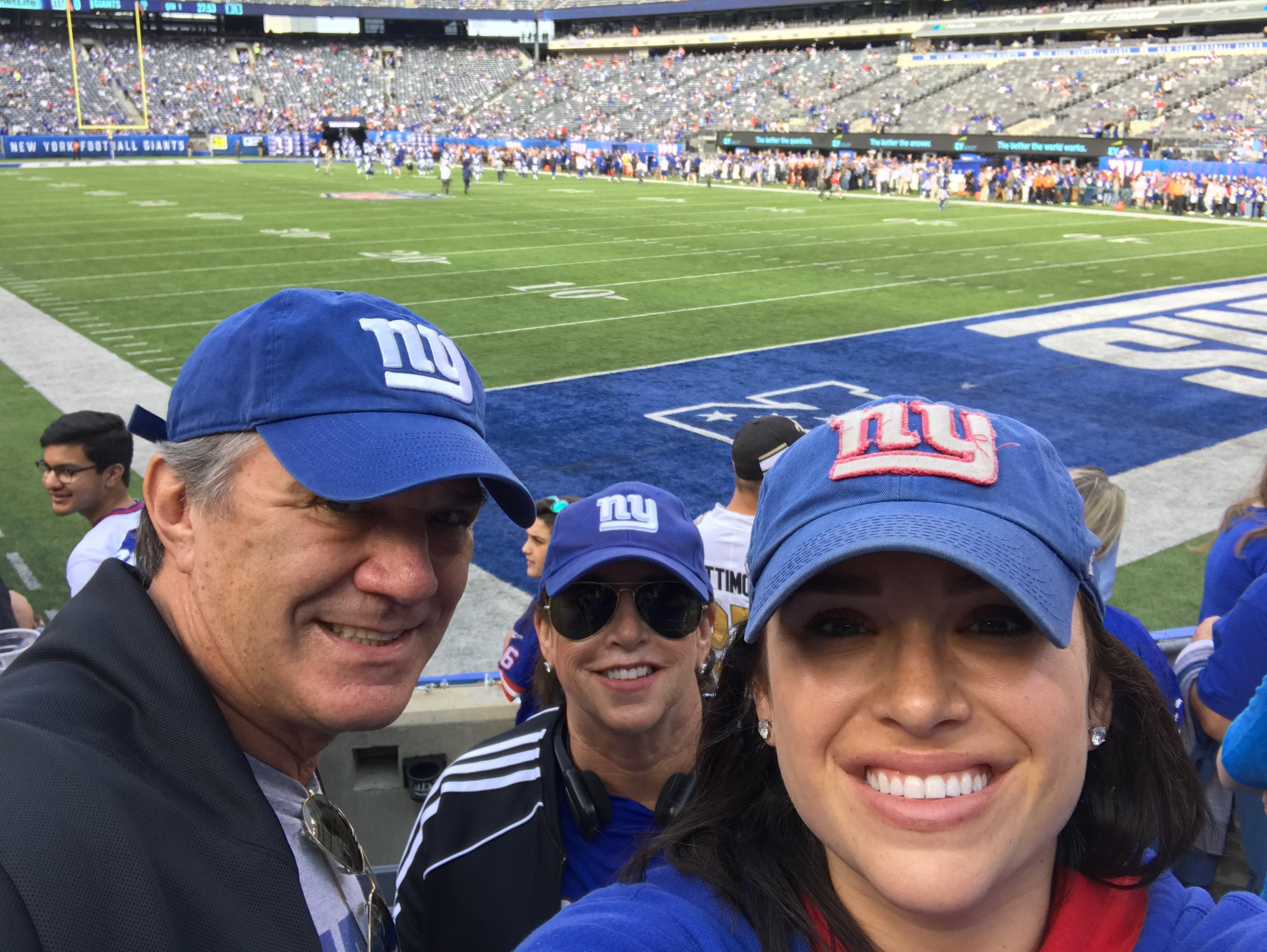 Giants Suck, My Daughter Doesn't…