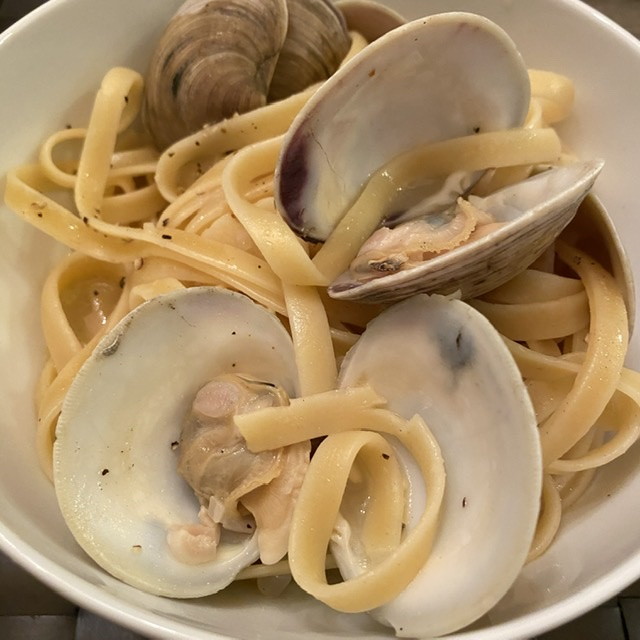 Steamed Over Clams…