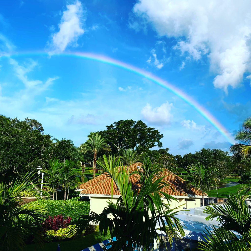 Over The Rainbow…